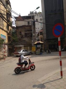 Hanoi utcakép