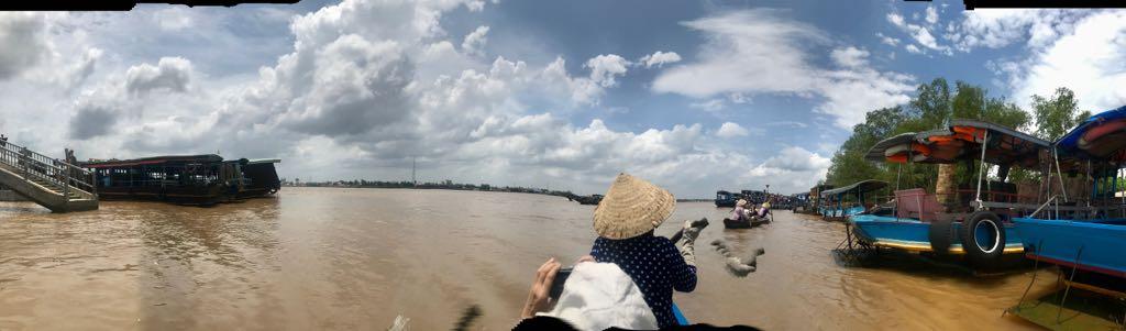 Thuy Chau strand és a Mekongdelta